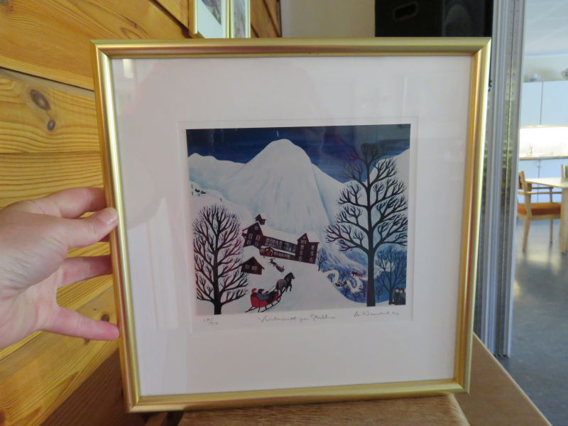Arvid Norendal - Vinternatt på Stalheim