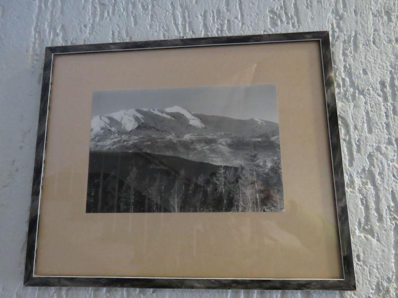Fotograf Per Sæbø ? - 6 stk svart/kvit foto frå vinter-Voss ca 1950