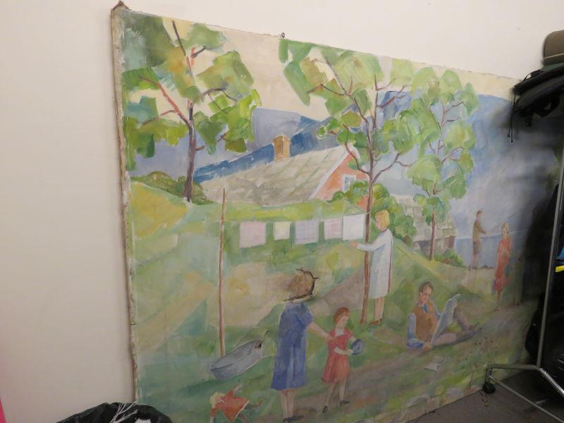 Johannes Lidsheim - Motiv: Familieaktivitet