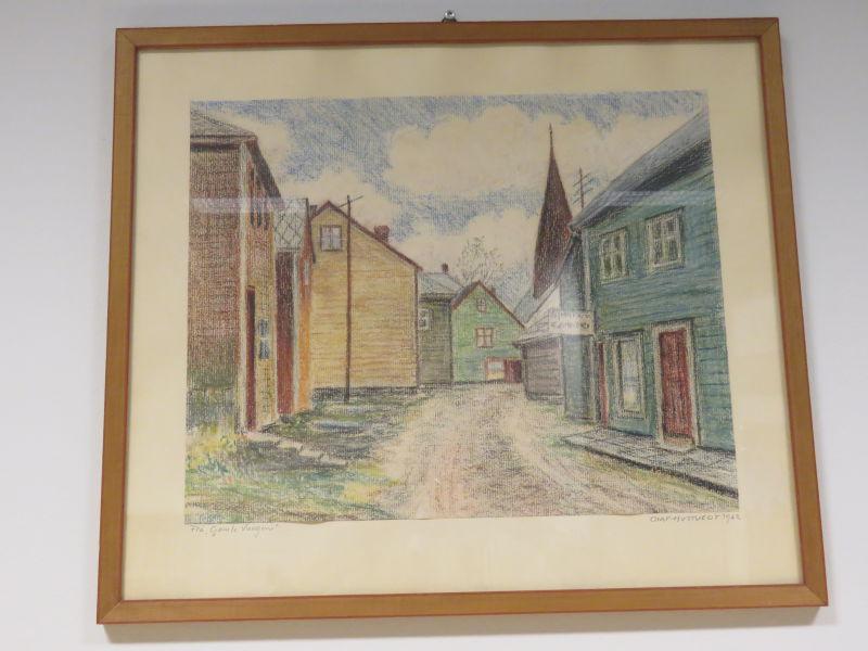 Olaf Hustveit - Frå «Gamle Vangen»