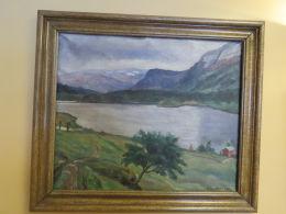 Johannes Lidsheim - Oljemåleri med naturmotiv
