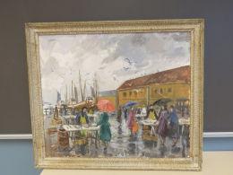 Motiv: Fisketorget i Bergen